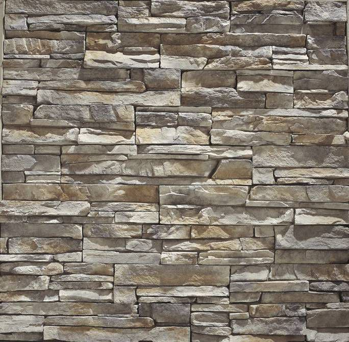 Natural stone wall cladding panel exterior interior STACKED