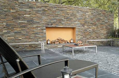 natural stone wall cladding panel exterior rustic century stone