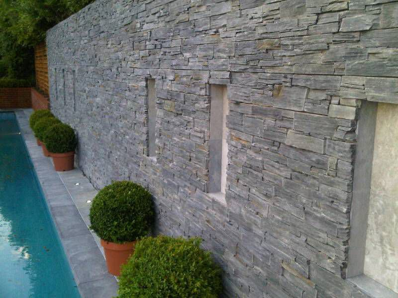 Natural Stone Wall Cladding Panel Exterior Classic Century Stone