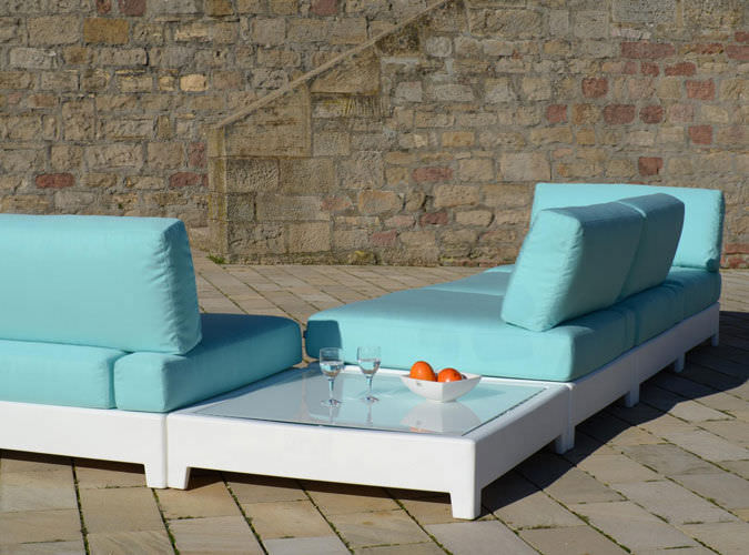 Modular Sofa  Contemporary  Outdoor  Synthetic Fiber  Switch By