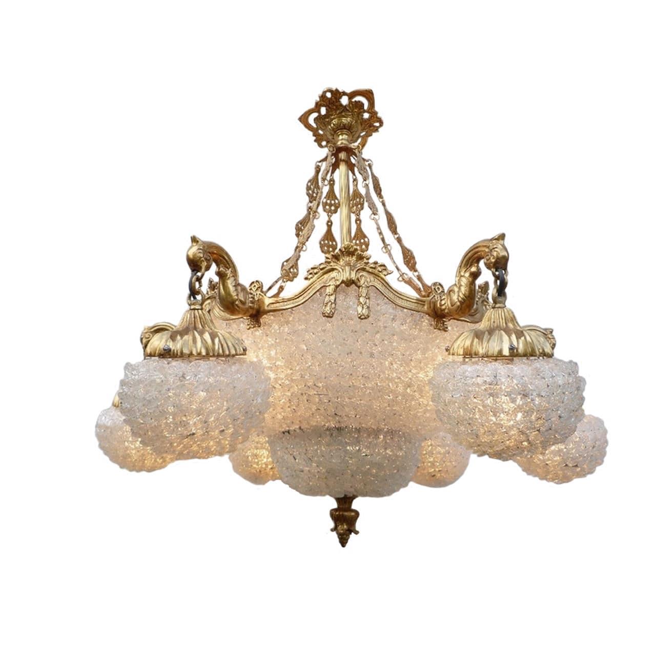 Classic chandelier glass bronze handmade monte carlo by classic chandelier glass bronze handmade monte carlo by hugues thieffry arubaitofo Choice Image