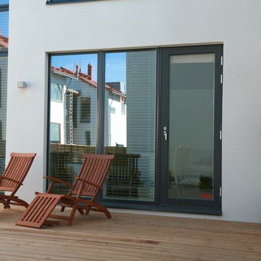 Sliding Patio Door / Wooden / Aluminum / Triple Glazed   BALCONY