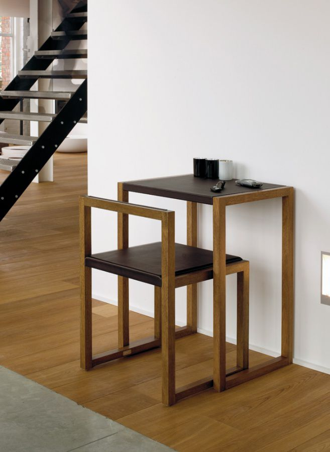Contemporary Table And Chair Set Wooden Visa By Anita Nevens