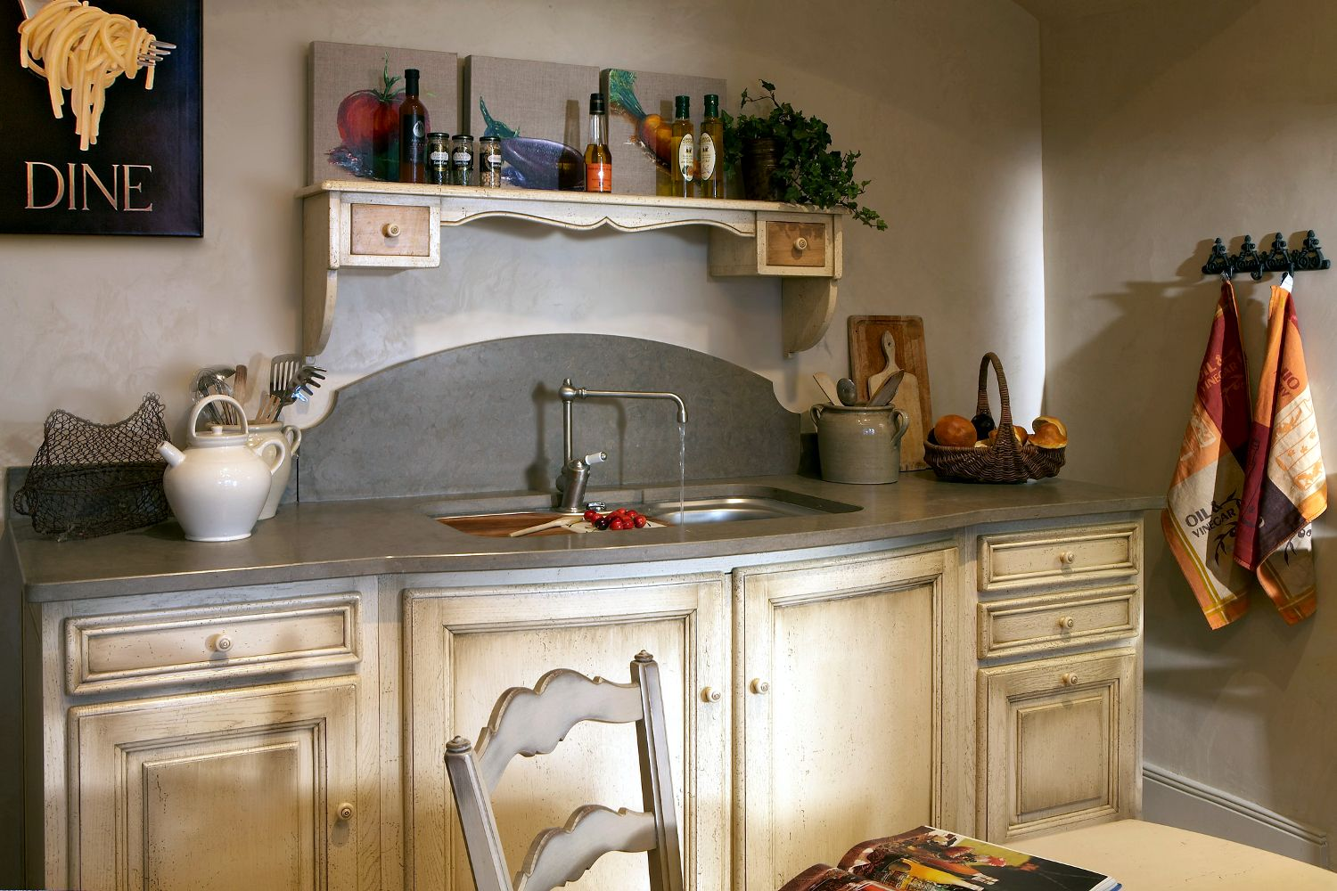 Superbe Meuble Style Provencal #11: ... Provence Style Kitchen / Traditional / Wooden RUSTIQUE COSI ...