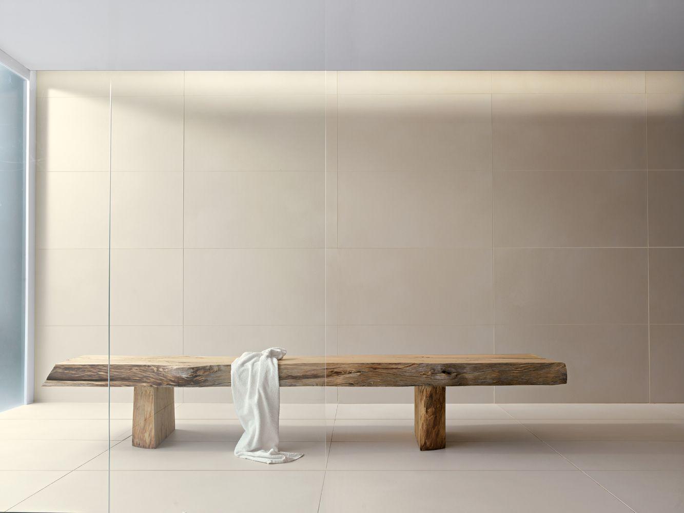 Indoor tile / living room / floor / wall - LINEN by Naoto Fukasawa ...