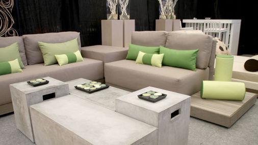 Modular Sofa / Contemporary / Garden / Plastic   CHARISMA By Bruno Viegas