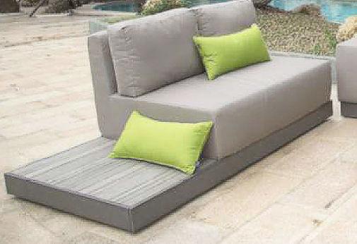 ... Modular Sofa / Contemporary / Garden / Plastic ...