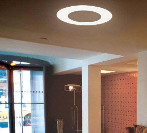 recessed ceiling light fixture led fluorescent round