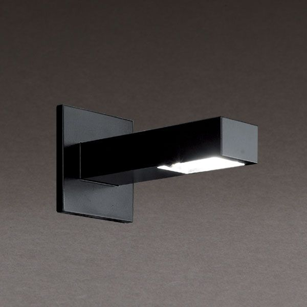 Wall mounted spotlight indoor led square brigg xs ecoled wall mounted spotlight indoor led square brigg xs mozeypictures Image collections
