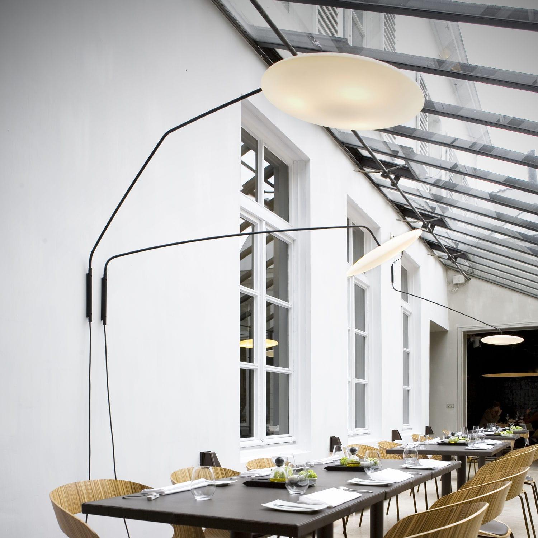 Contemporary wall light / steel / polyethylene / LED - FOOL MOON by Bart Lens  sc 1 st  ArchiExpo & Contemporary wall light / steel / polyethylene / LED - FOOL MOON ... azcodes.com