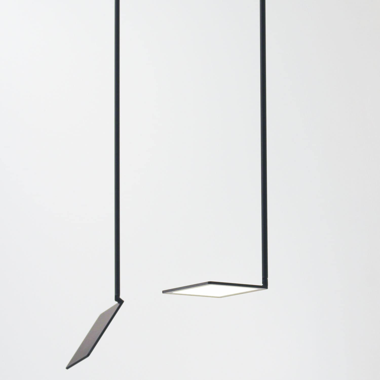 Hanging light fixture oled square aluminum ohled by bart hanging light fixture oled square aluminum ohled by bart lens eden arubaitofo Choice Image