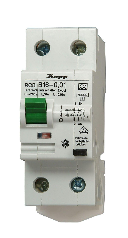 Circuit breaker - RCB FI / LS - Heinrich Kopp GmbH