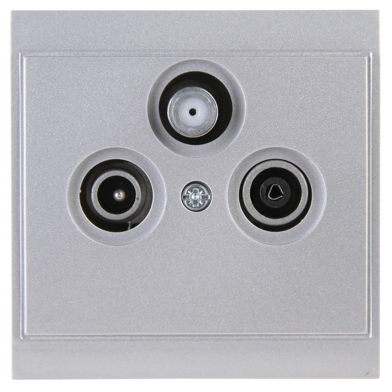 SAT socket / TV / wall-mounted / contemporary - MALTA