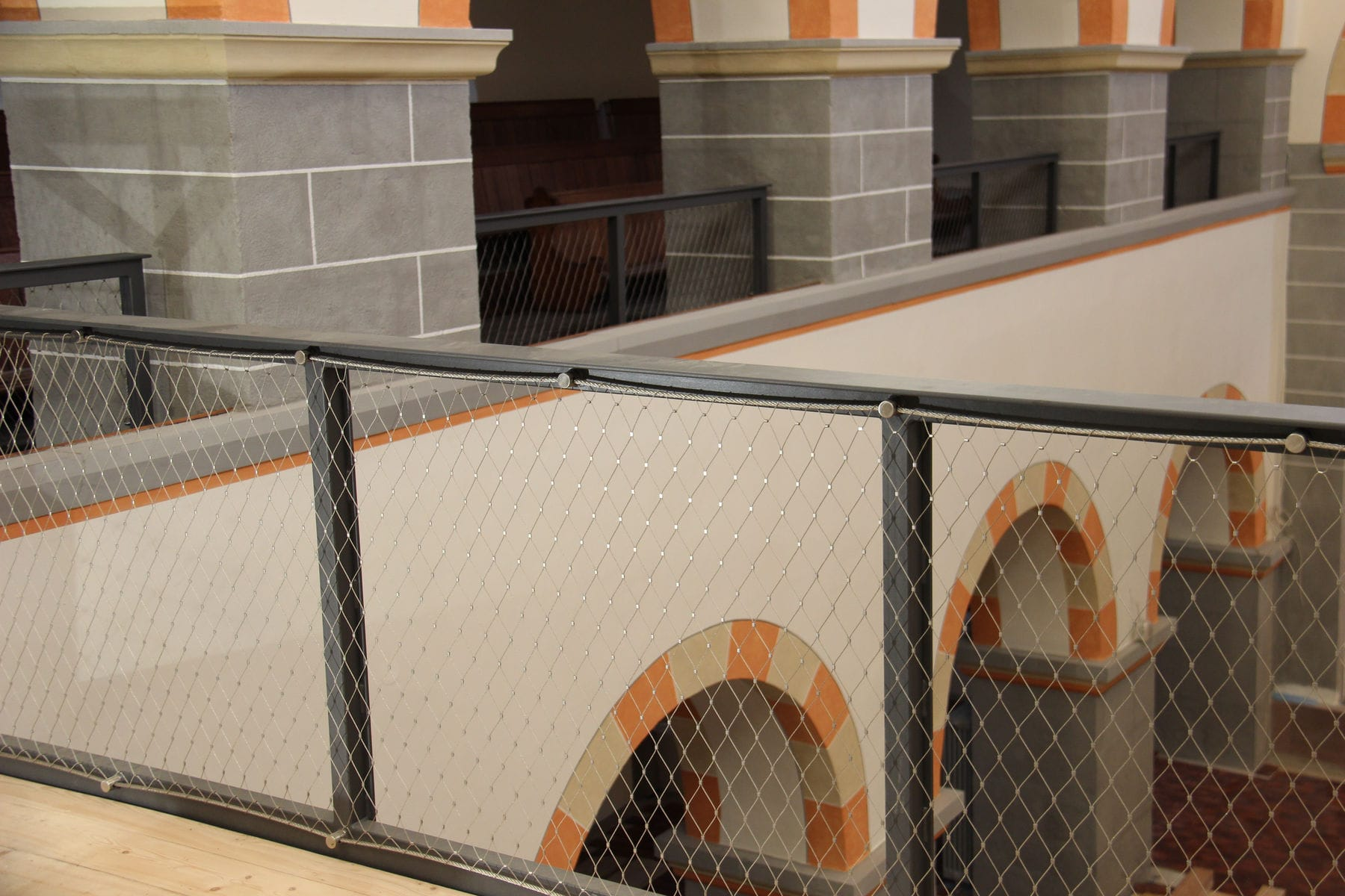 Wire fencing mesh / stainless steel / diamond mesh - X-TEND - Carl ...