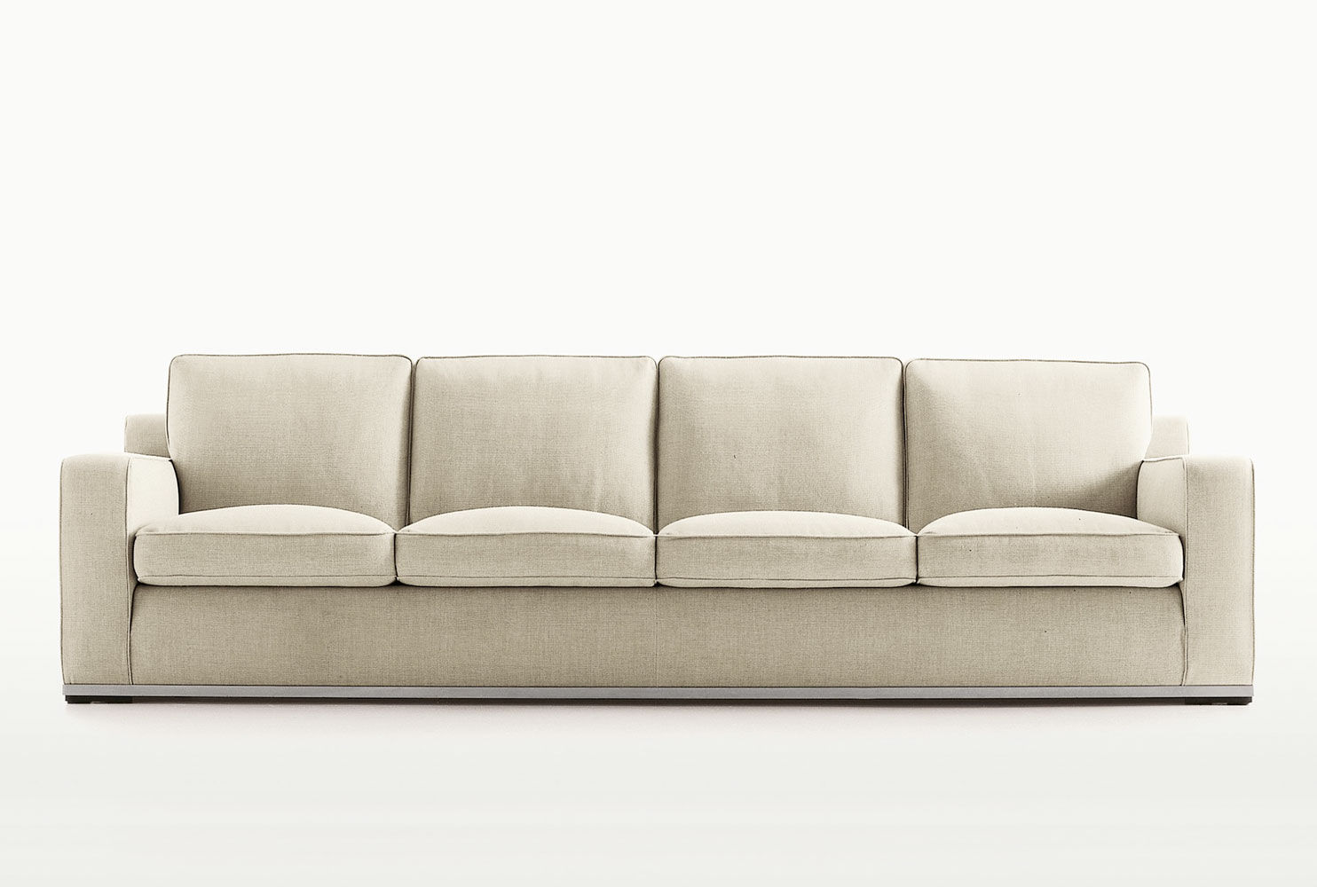 Merveilleux Contemporary Sofa / Fabric / By Antonio Citterio / 3 Seater