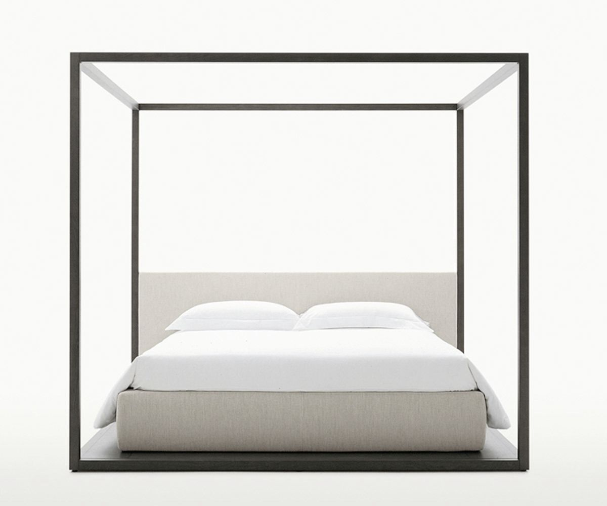... Canopy bed / double / contemporary / oak ALCOVA MAXALTO  sc 1 st  ArchiExpo & Canopy bed / double / contemporary / oak - ALCOVA - MAXALTO