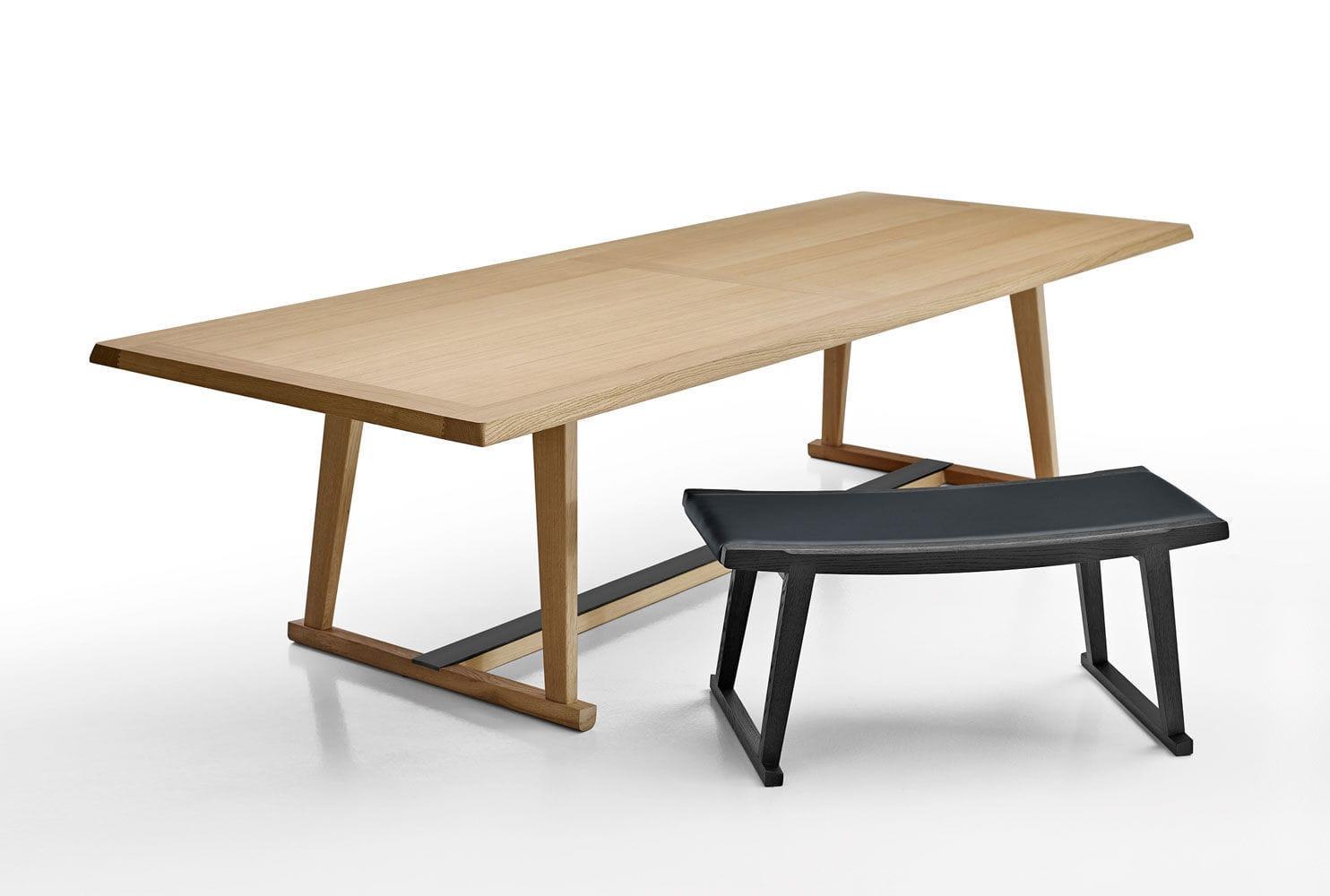 Dining table / contemporary / oak / rectangular - RECIPIO '14 ...