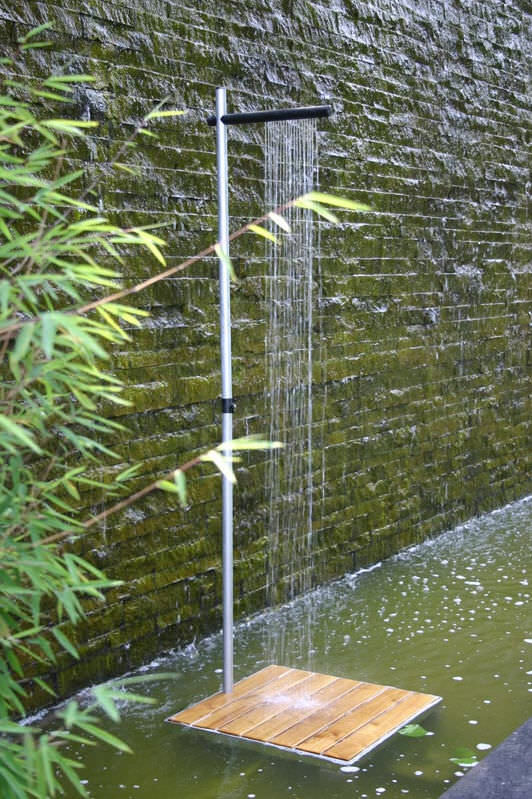 Galvanized iron shower garden CASCADE TRADEWINDS