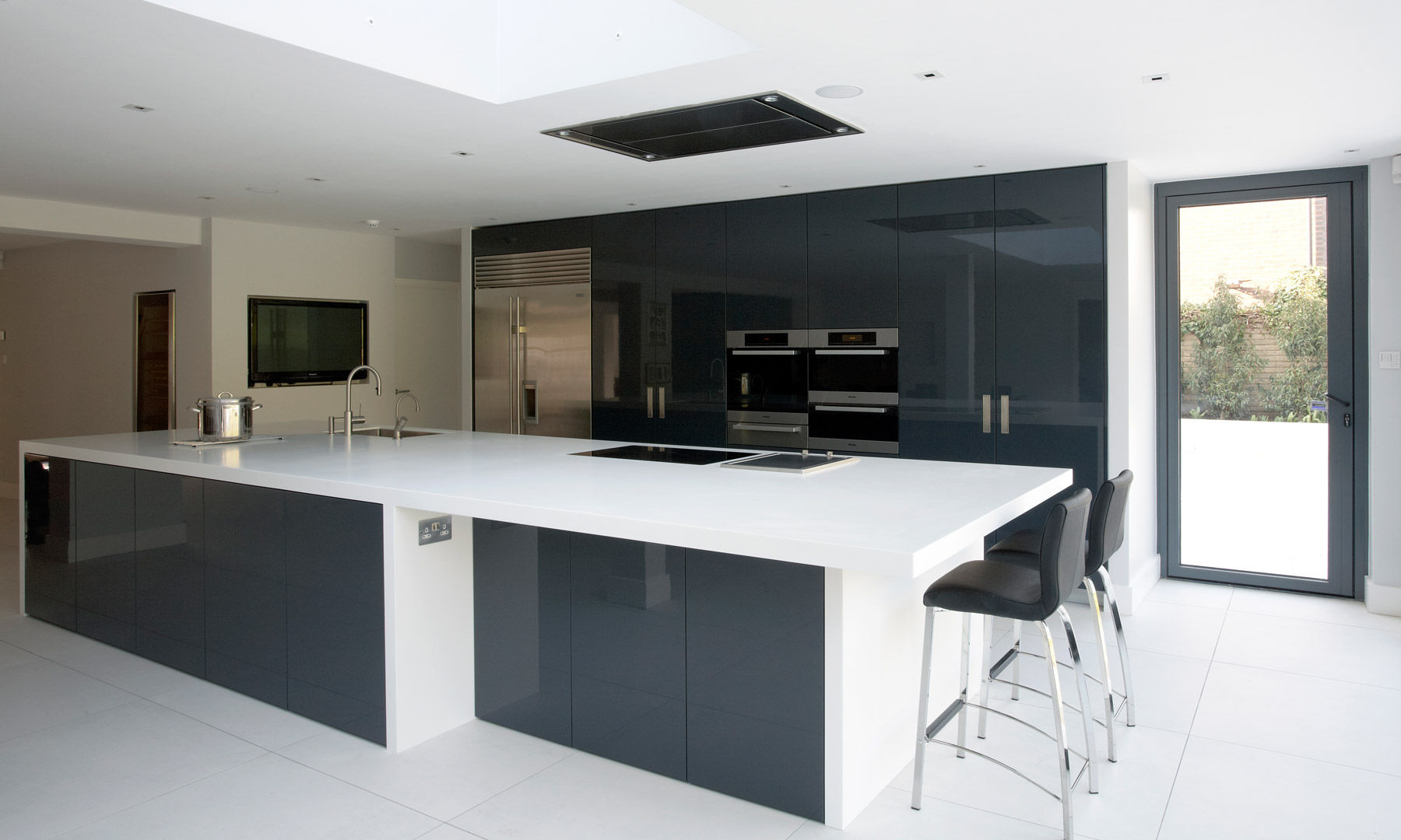 ... Contemporary Kitchen / Wooden / Island / Lacquered DULWICH VILLAGE  Robert Timmons Furniture ...