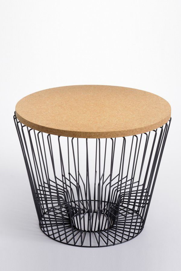 Contemporary Coffee Table Metal Round