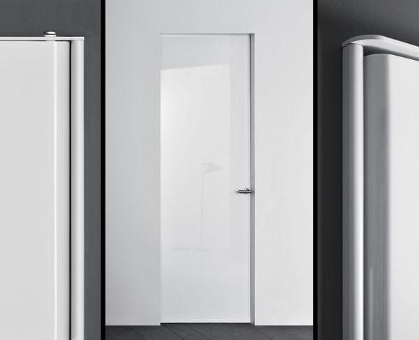 indoor door / swing / laminate / lacquered - TRIS & Indoor door / swing / laminate / lacquered - TRIS - Designity