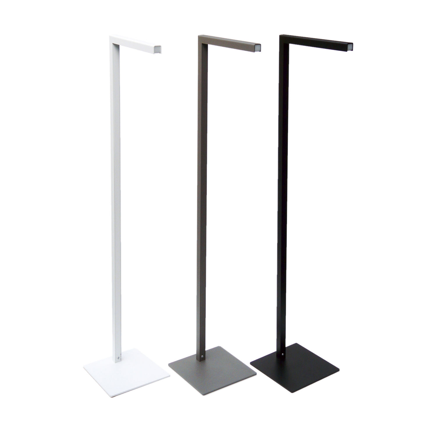 Floor Standing Lamp Contemporary Aluminum Led Light