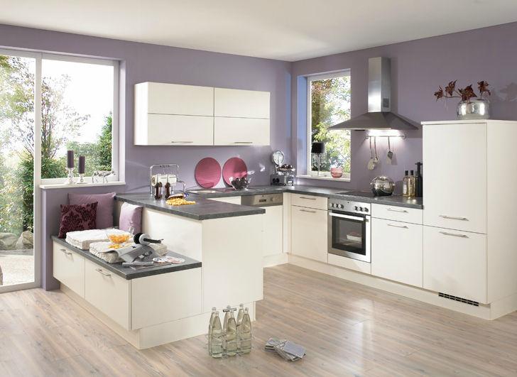 contemporary kitchen wooden lacquered matte pia 605 - Nobilia Kuche Primo