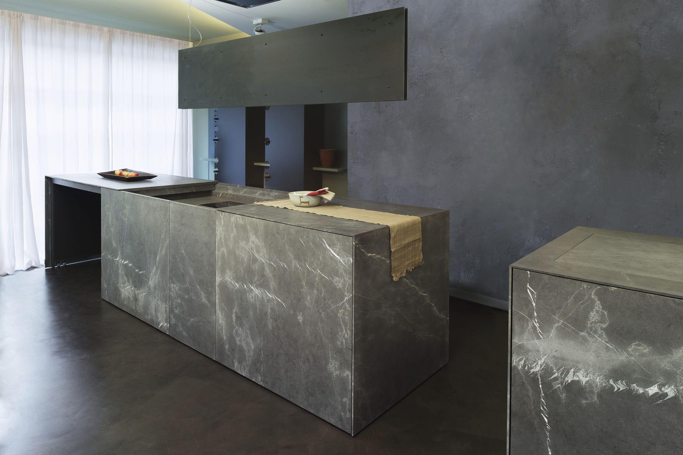 Contemporary kitchen / stone / island - 20141002 – CUCINA MONOBLOCCO ...