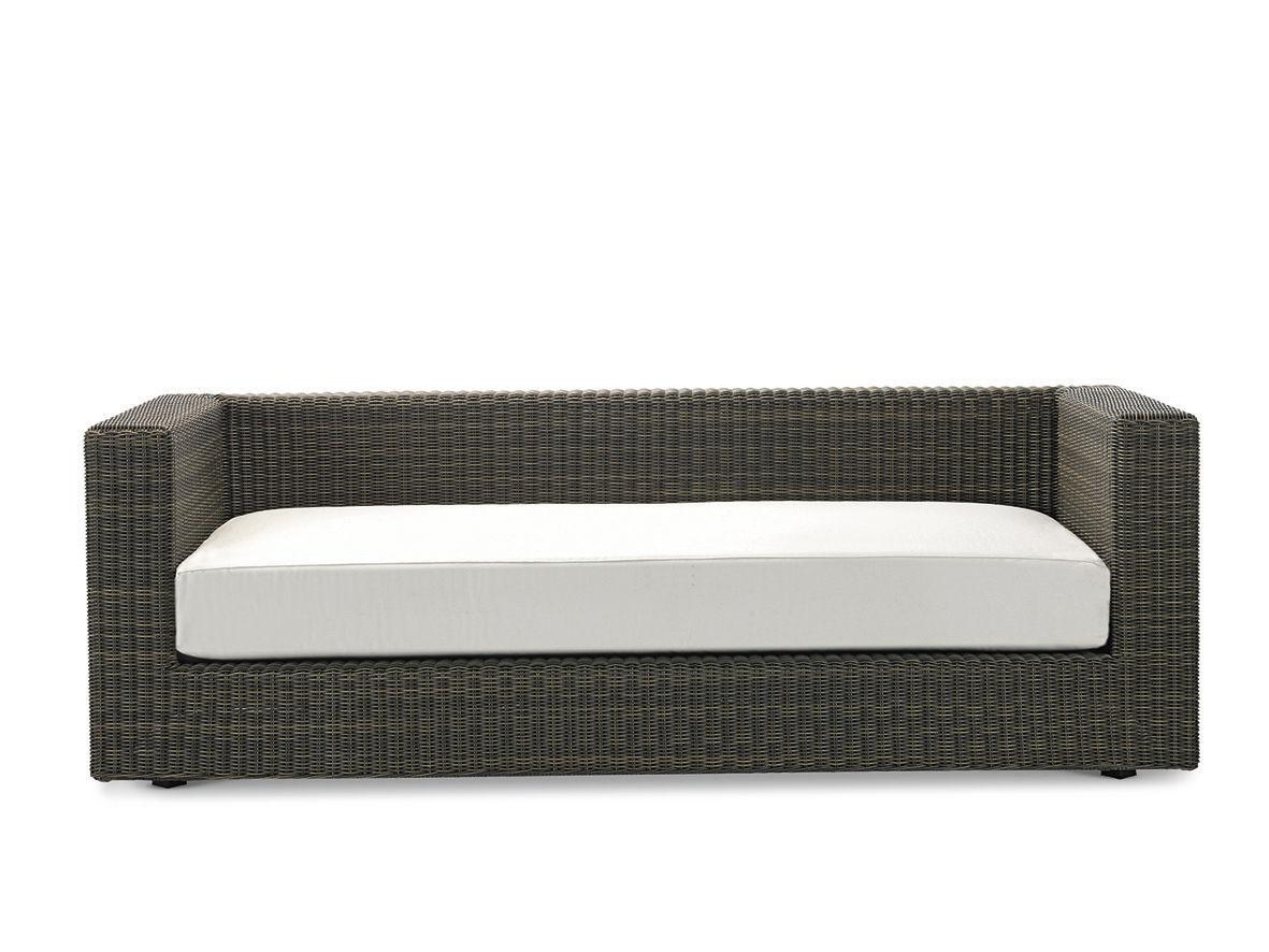 Delightful ... Modular Sofa / Contemporary / Garden / Resin Wicker CUBE Ethimo ...