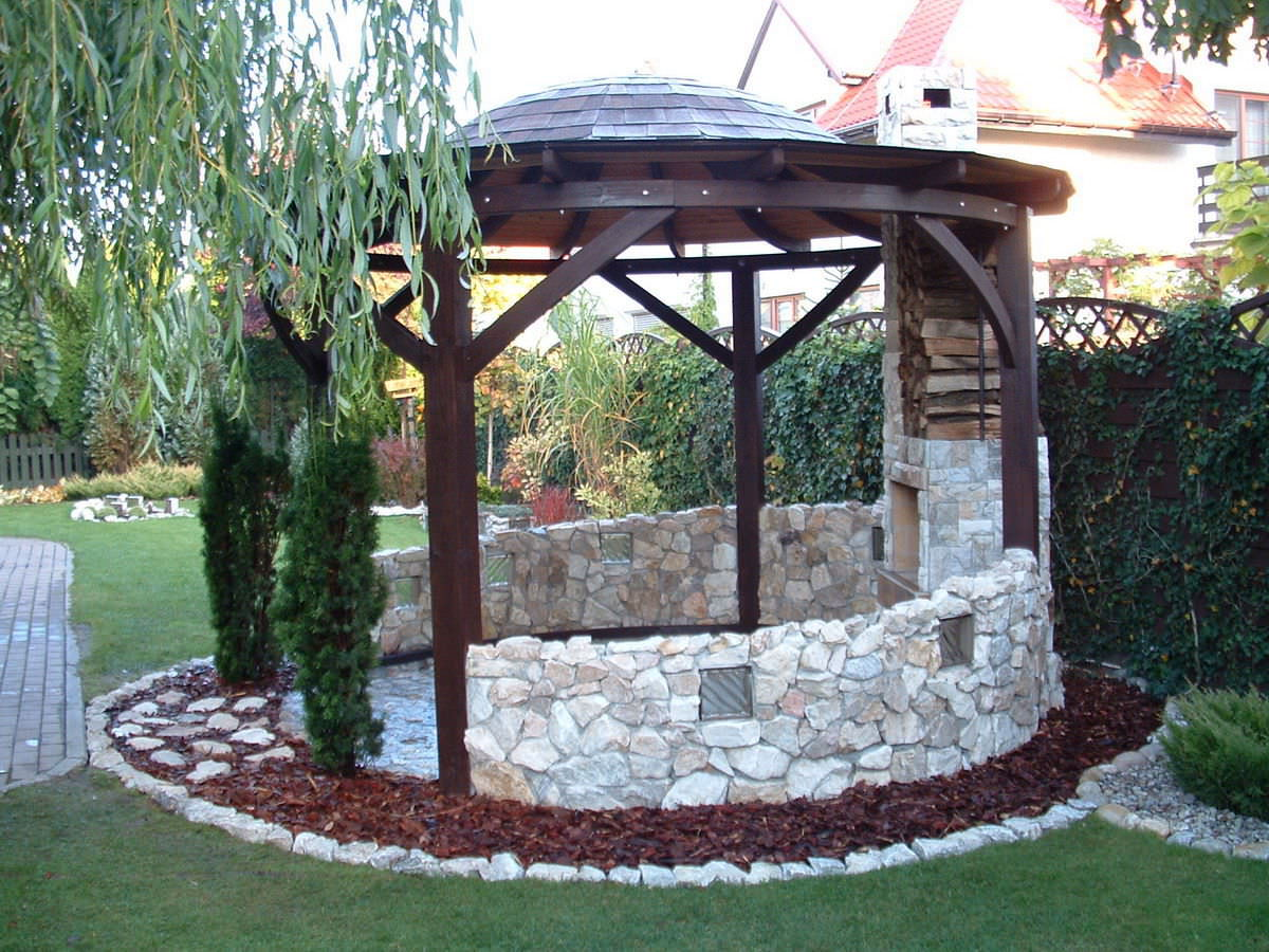 Wundervoll Self-supporting pergola / wooden - VALENCIA - EcoCurves ZV26