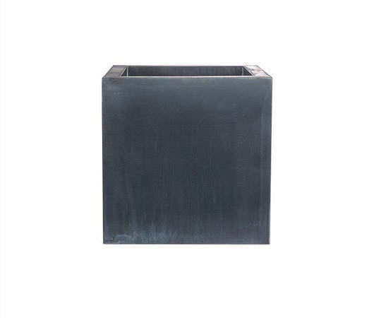 Zinc planter / square / contemporary - HZCR - DOMANI on square aluminum planters, square iron planters, square stone planters, square brass planters, square outdoor planters, square tin planters, square terracotta planters, square fiberglass planters, square lead planters, square plastic planters, square white planters, square garden planters,