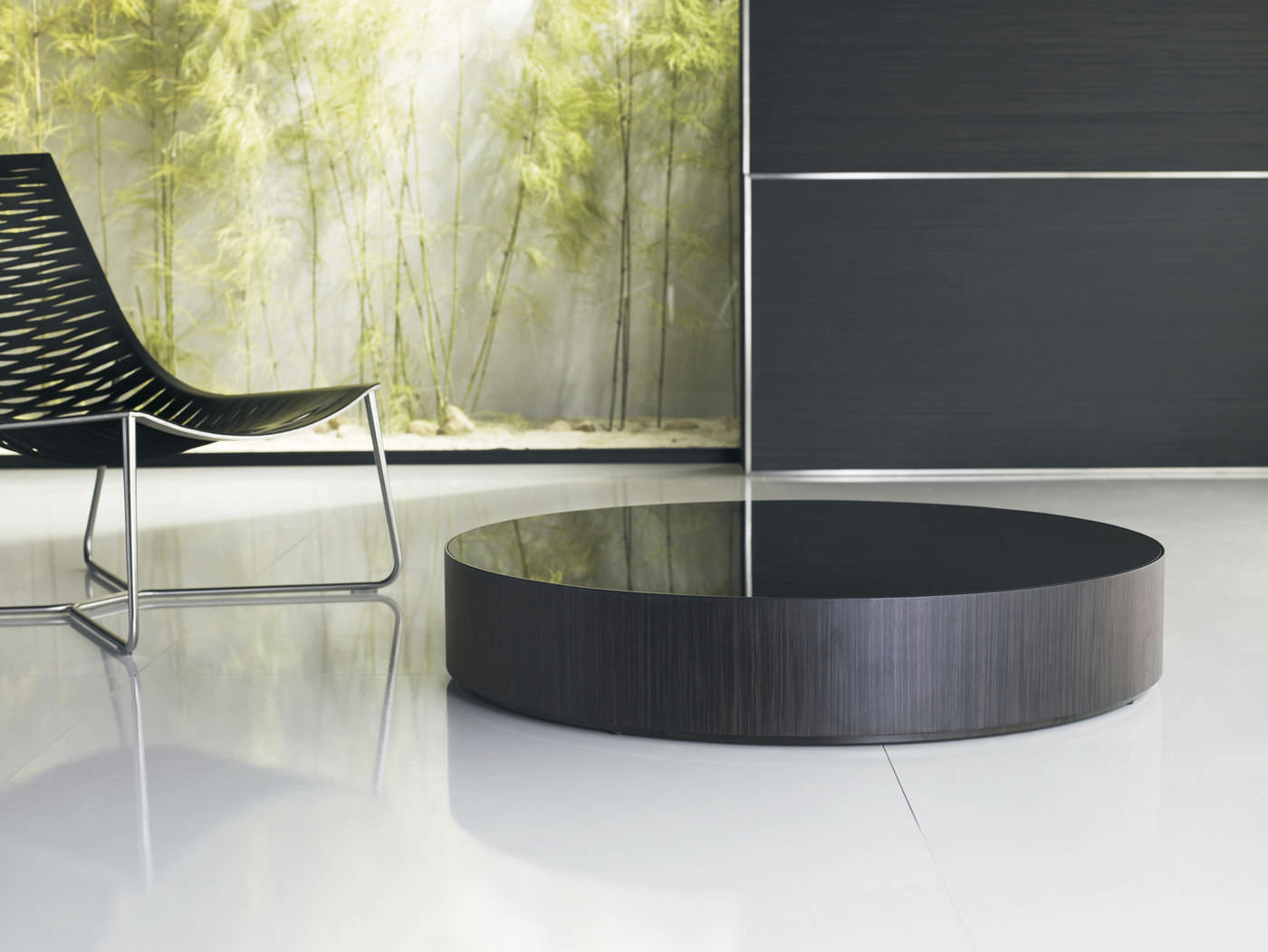 contemporary coffee table  glass  round  berkeley in  - contemporary coffee table  glass  round  berkeley in berkeley in