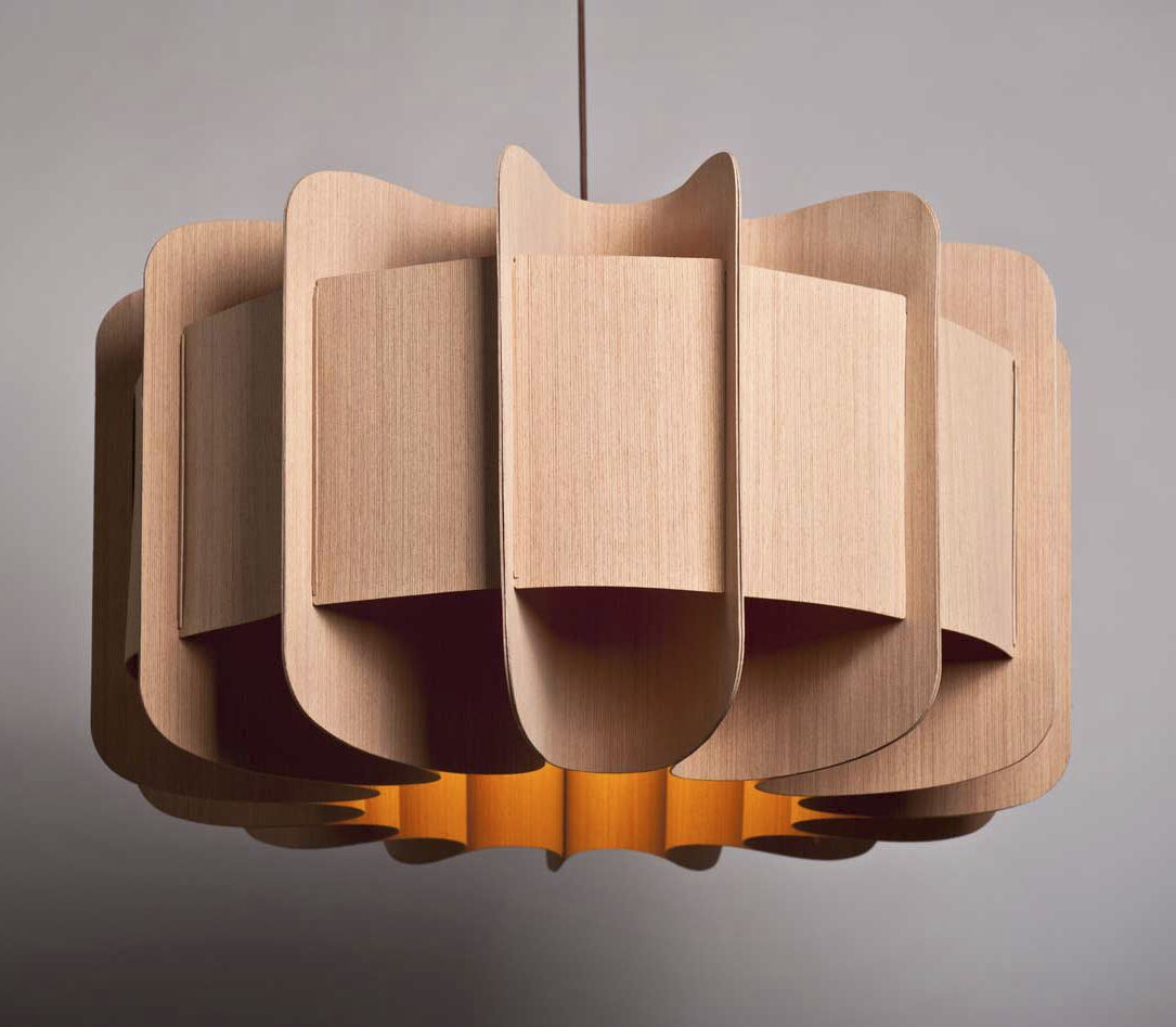 Pendant lamp original design wooden clarissa by marcelo pendant lamp original design wooden clarissa by marcelo dabini nadia corsaro mozeypictures Images