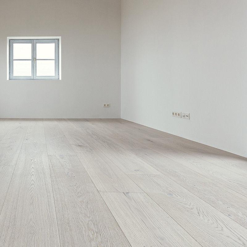 Engineered Parquet Floor Clip On White Oak Oiled Heaven Wild Knotty