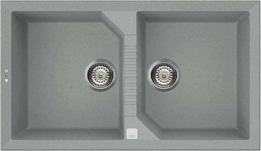 Double kitchen sink / composite - TEKNO 450 - ELLECI