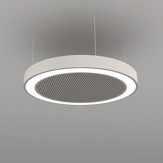 Hanging light fixture led round aluminum acoustics disc hanging light fixture led round aluminum acoustics disc naa d fb aloadofball Image collections