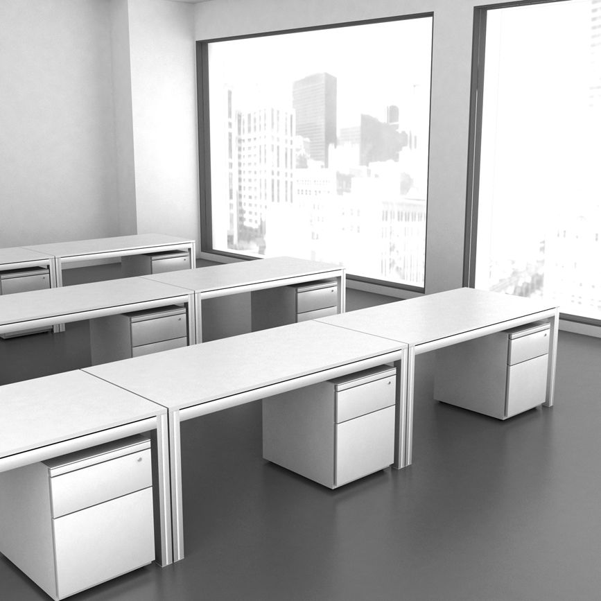 ... Superb Aluminum Office Desk #13   Aluminum Office Desk Design Ideas ...