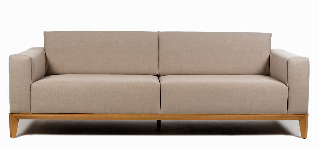 ... Contemporary Sofa / Wood / 3 Seater / White OSLO By Edeestudio Bu0026V