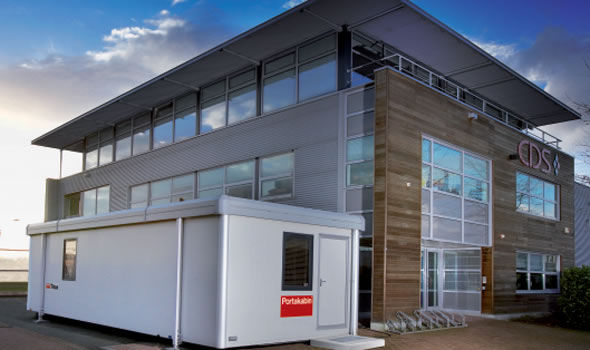Modular building / prefab / for offices / steel - TITAN ...