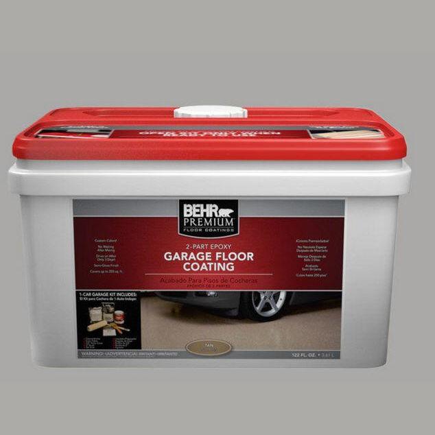 Good Decorative Paint / For Floors / For Concrete / Interior   BEHR PREMIUM®  2 PART