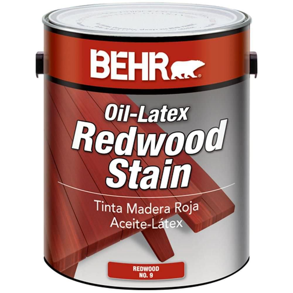 Protective wood stain / decorative / leak-proofing - REDWOOD - BEHR