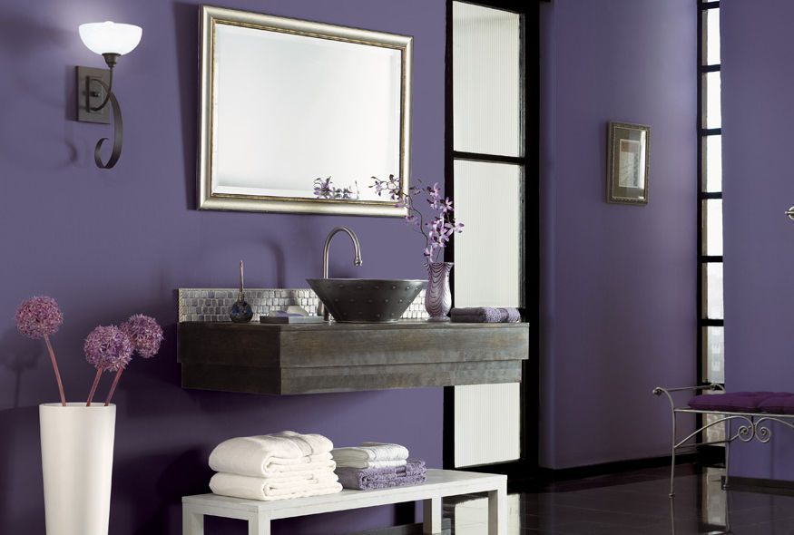 decorative paint / for walls / interior / exterior - behr