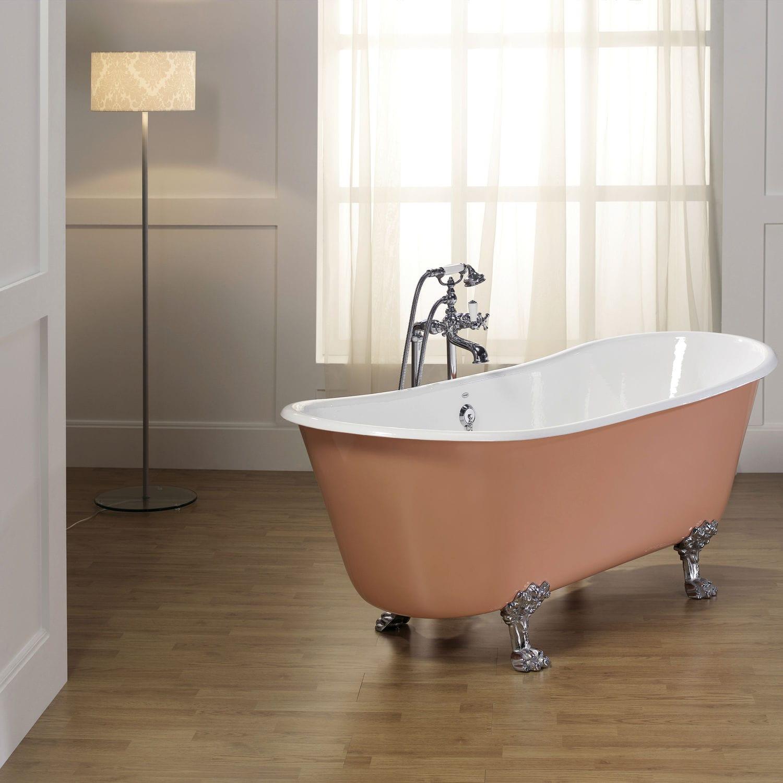 Bathtub with legs / oval / cast iron - PRIMROSE - RECOR