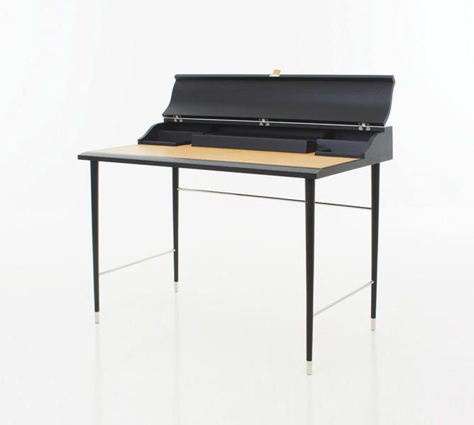 contemporary secretary desk wooden storage danish modern mid century canada
