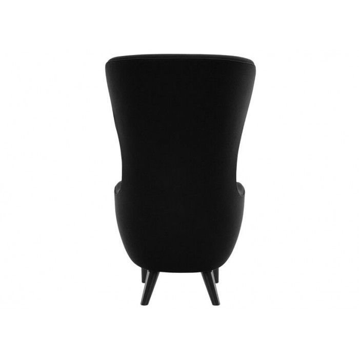 Contemporary Armchair Oak Fabric Wing WINGBACK - Tom dixon wingback chair