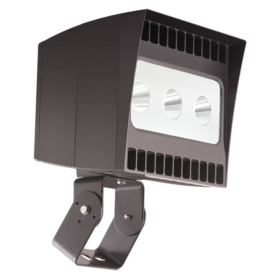 Surface Mounted Spotlight / Outdoor / LED / Square EZLED TRUNNION RAB  Lighting