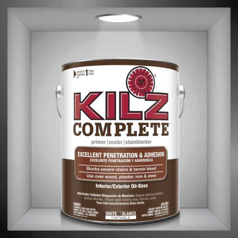 Wood primer / oil-based / outdoor / indoor - KILZ COMPLETE® - KILZ