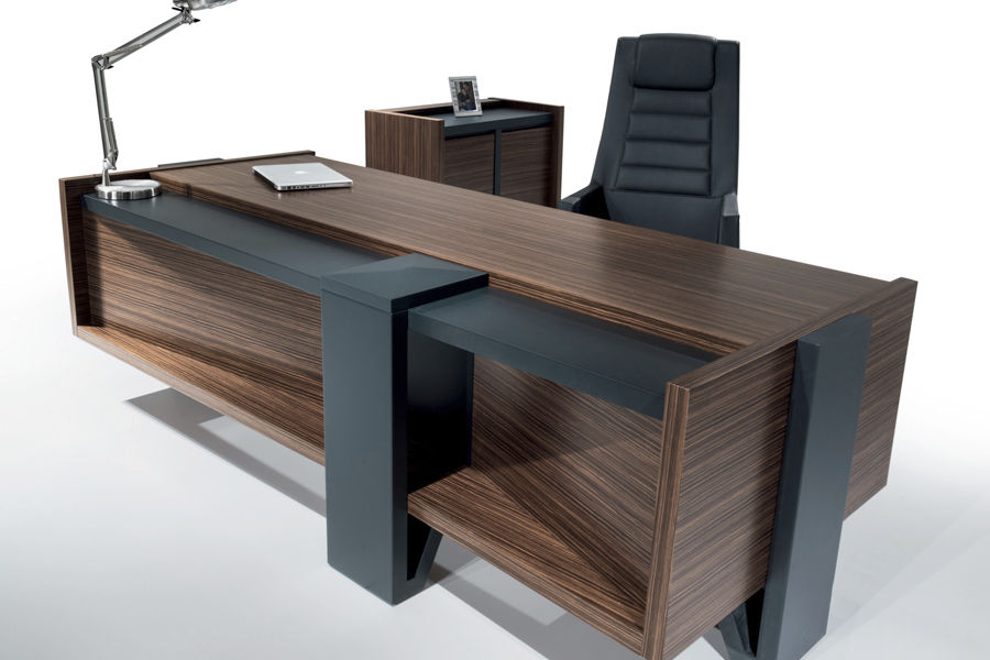 Executive Desk Wooden Contemporary Commercial