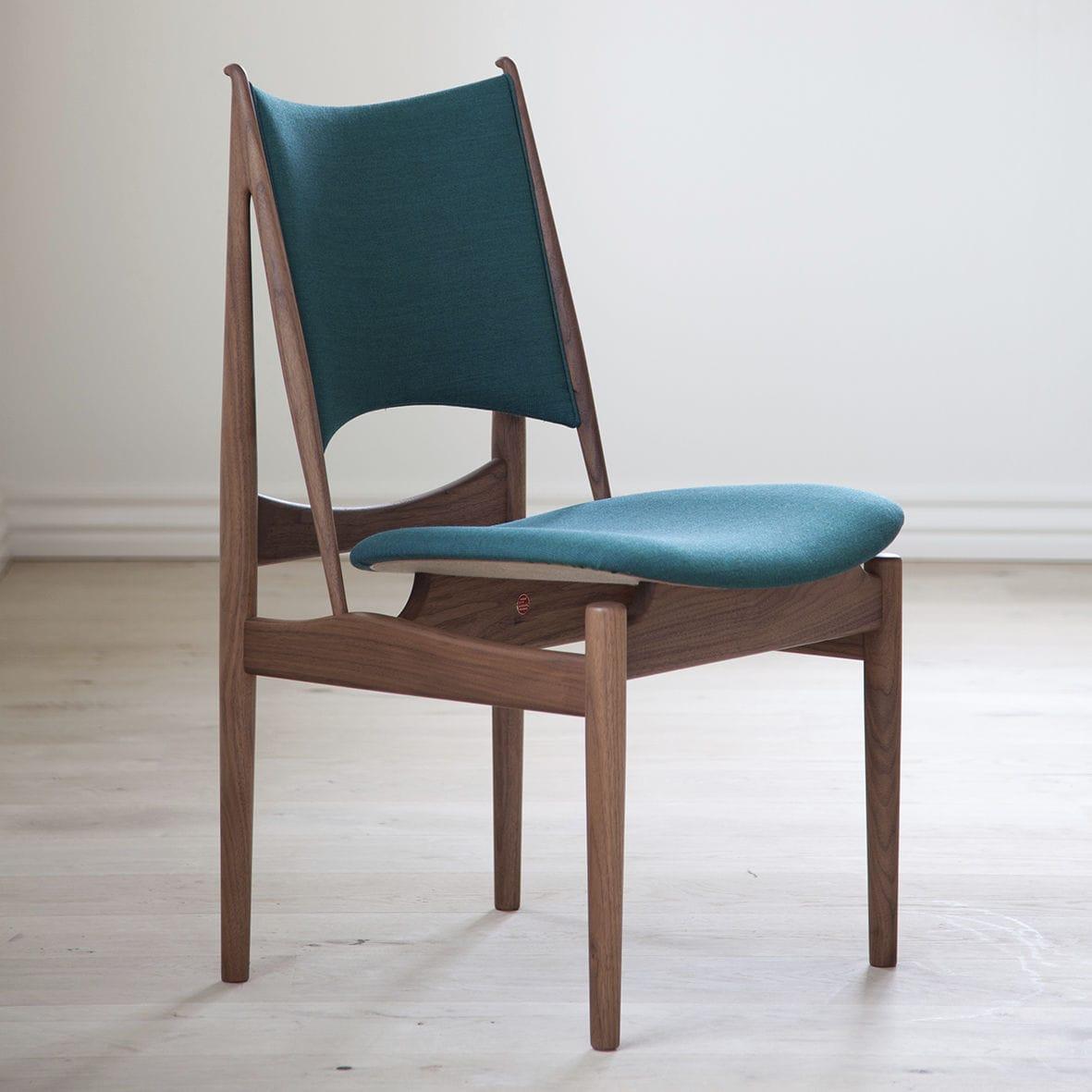 Scandinavian design chair fabric wooden leather EGYPTIAN