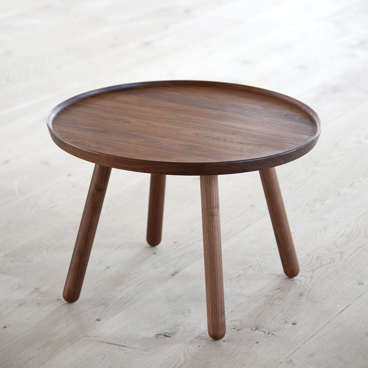 Awesome ... Scandinavian Design Side Table / Wooden / Round / By Finn Juhl PELICAN  ONE COLLECTION ...